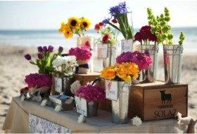 A Wedding Flower Market