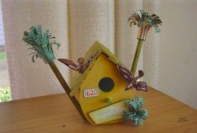 Bird House Welcome 1