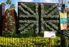 United Kingdom Flag of Flowers, Epcot 2011
