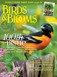 birds and blooms 100th issue | aug-sep 2011 | paula bonelli | midwest regional reporter