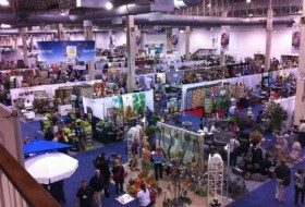 A small glimpse of the vendors at the Independent Garden Show.