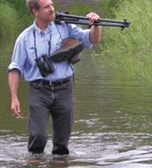 Kenn Kaufman, author of the Kaufman Field Guide series.