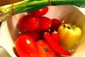 Fresh CSA veggies