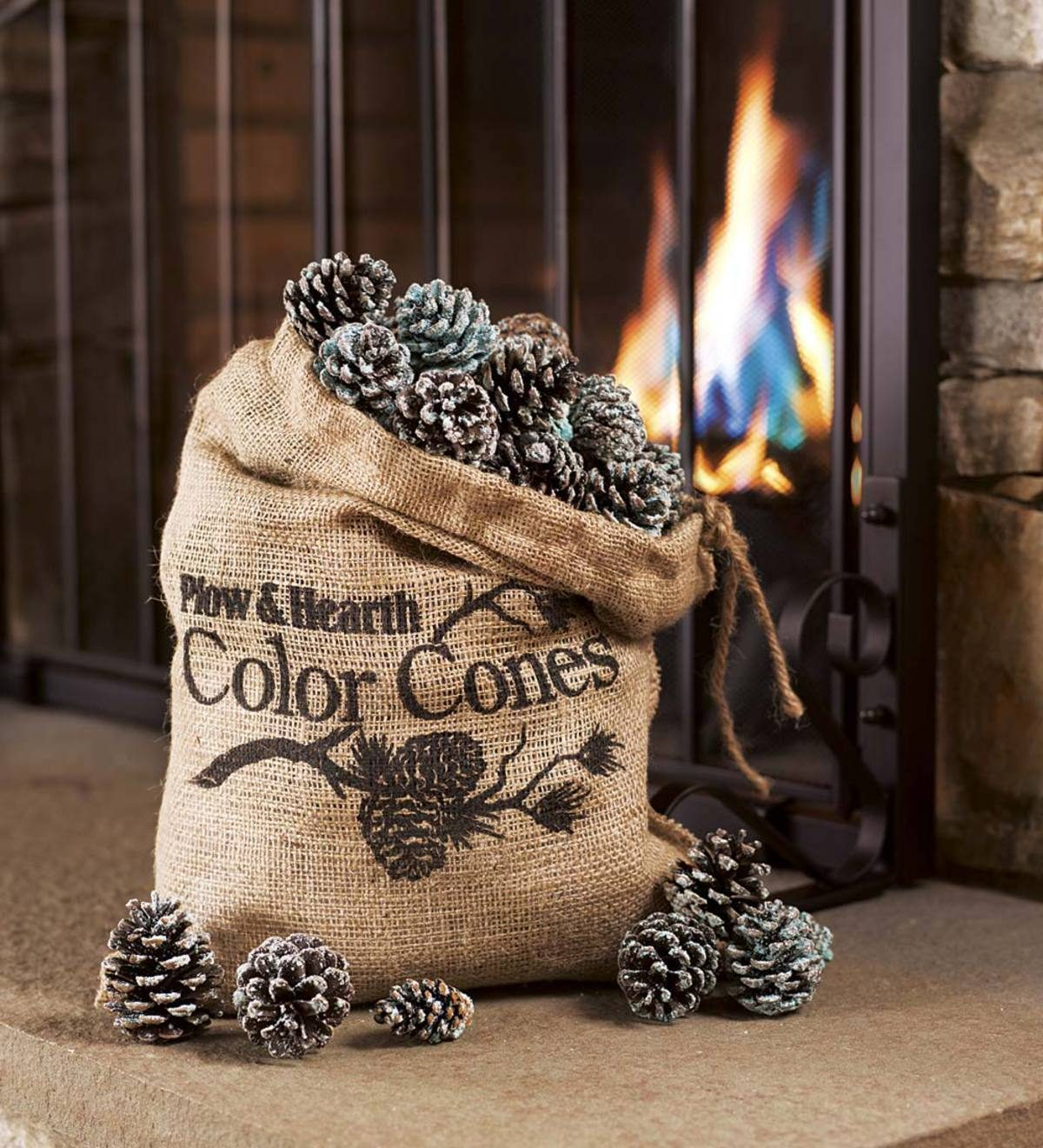 color-changing pinecones Plow & Hearth