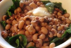 Black-Eyed Peas for the New Year