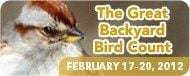 The Great Backyard Bird Count is coming–Feb 17-20,2012