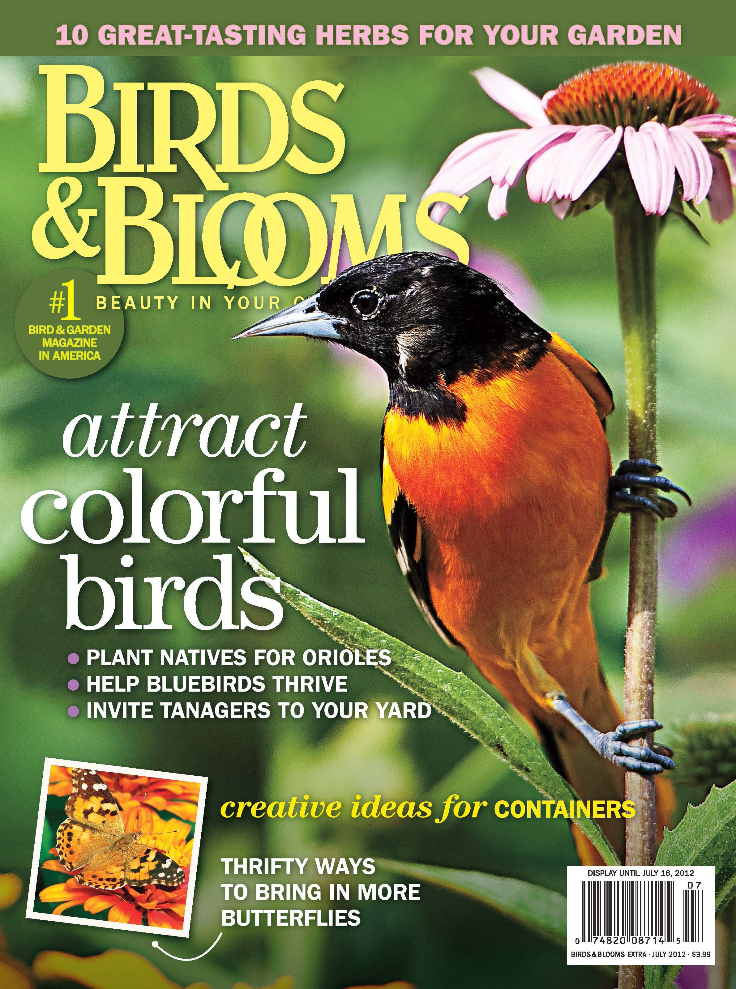 July 15 Issue - Birds and Blooms