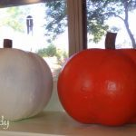 Create Your Own Festive Pumpkins Using Papier-Mache