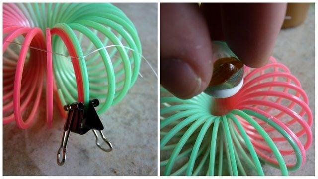Slinky Flowers First Steps