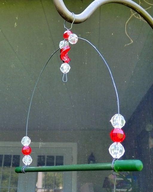 DIY Hummingbird Swing