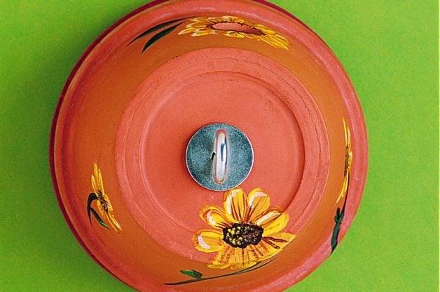 Clay Pot DIY Birdhouse Top