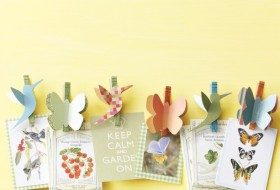 Nature-Inspired Clothespin Craft Project