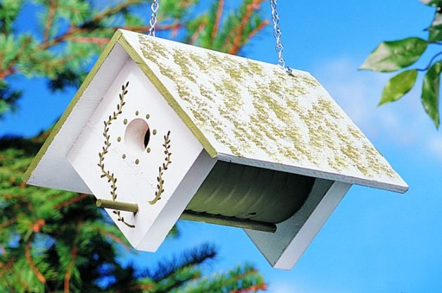 Coffee Can Birdhouse