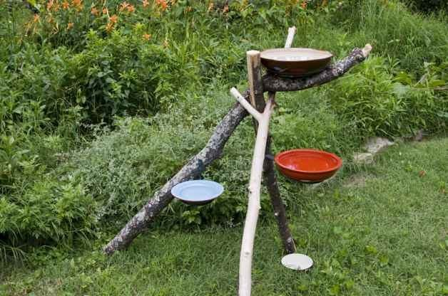 Diy Bird Bath Water Park Backyard Projects Birds And Blooms