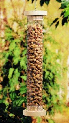 DIY Bird Feeder for Peanuts Vertical