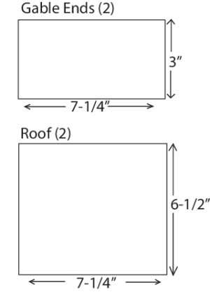 DIY Birdhouse Diagram C