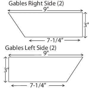 DIY Birdhouse Diagram D