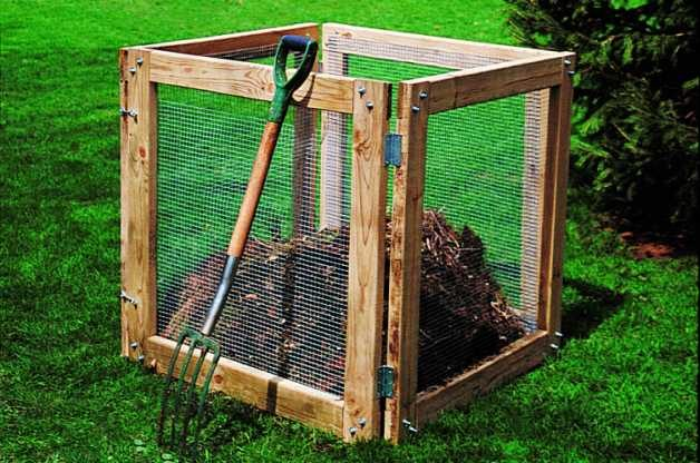 DIY Compost Bin - DIY Compost Bin Backyard Projects - Birds And Blooms