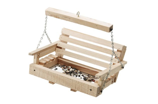 Porch Swing DIY Bird Feeder