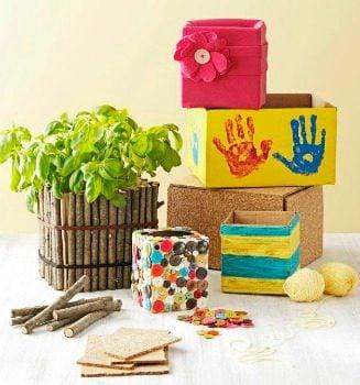 Decorative Cardboard Container