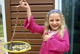 Homemade Bird Feeder for Kids