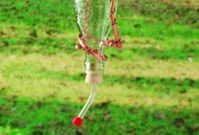 Homemade Hummingbird Feeder