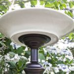Recycled Lamp DIY Bird Bath