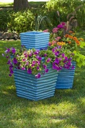 Stacked Garden Planter