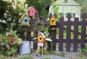 Stylish DIY Birdhouse Designs