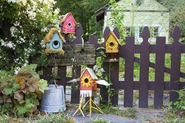 Stylish DIY Birdhouse Designs