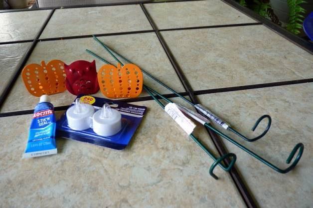 Halloween Garden Tealights Supplies