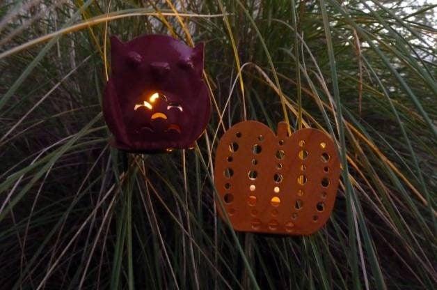 Halloween Garden Tealights