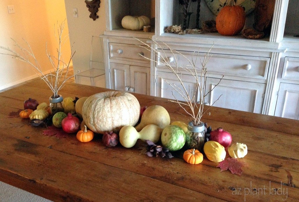 Diy create an all natural fall centerpiece birds and blooms