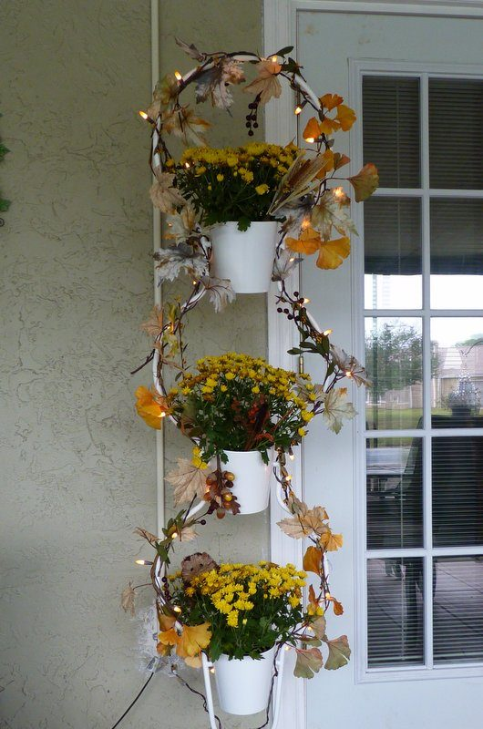 Fall Plant Stand