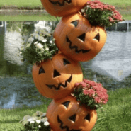 How to Make a Tipsy Pumpkin Planter