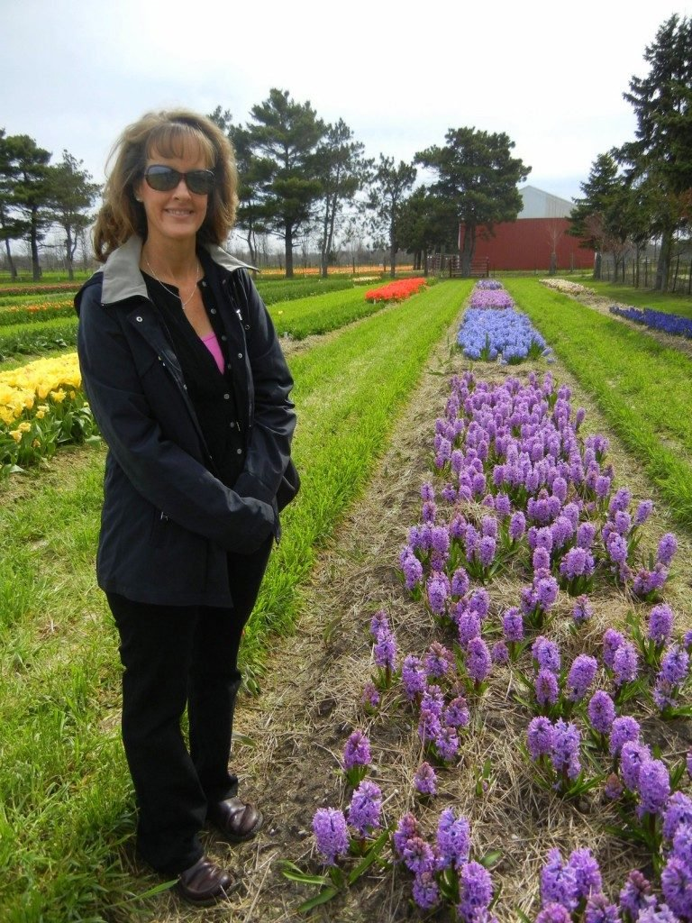 Flowering Hyacinths