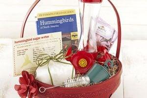 DIY Gift Basket Ideas Hummingbird Fan