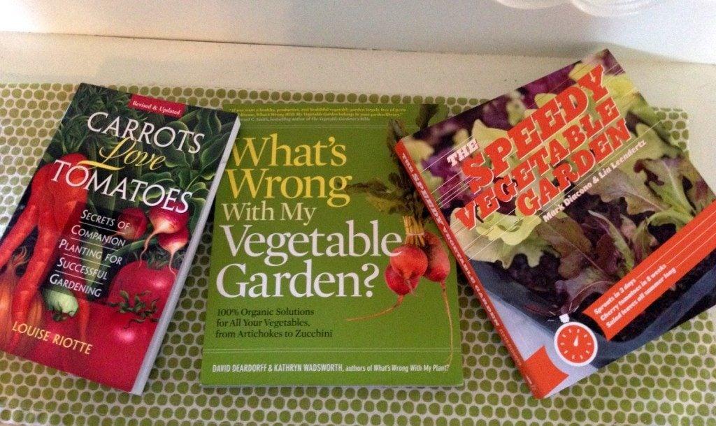 Vegetable gardening books