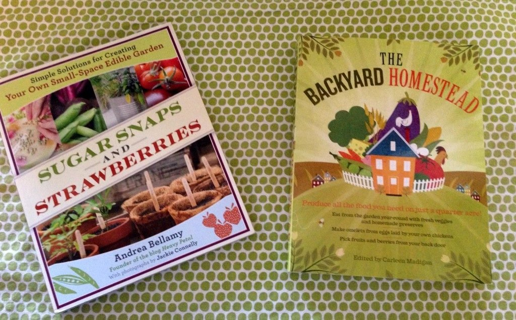 Sugar Snaps and Strawberries Book and the Backyard Homestead