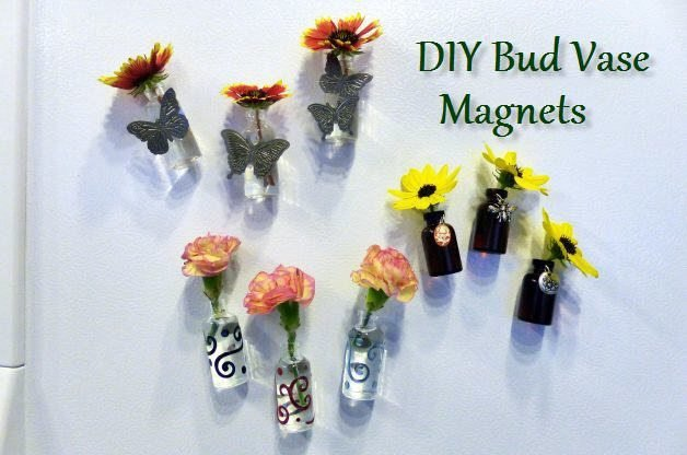 Diy Projects For The Home Diy Bud Vase Magnets