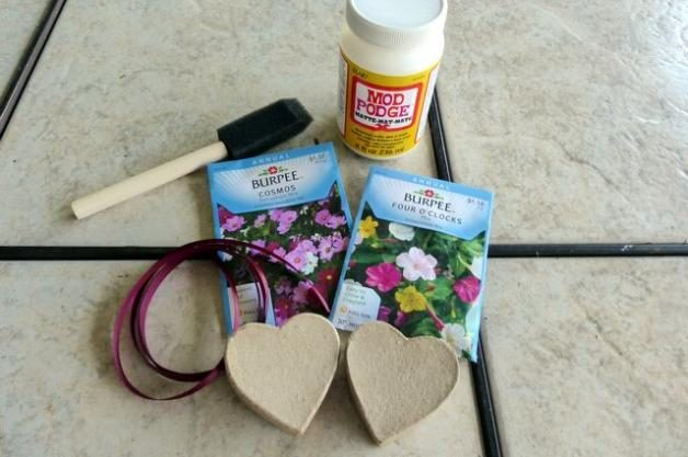 Seed Box Gifts Materials