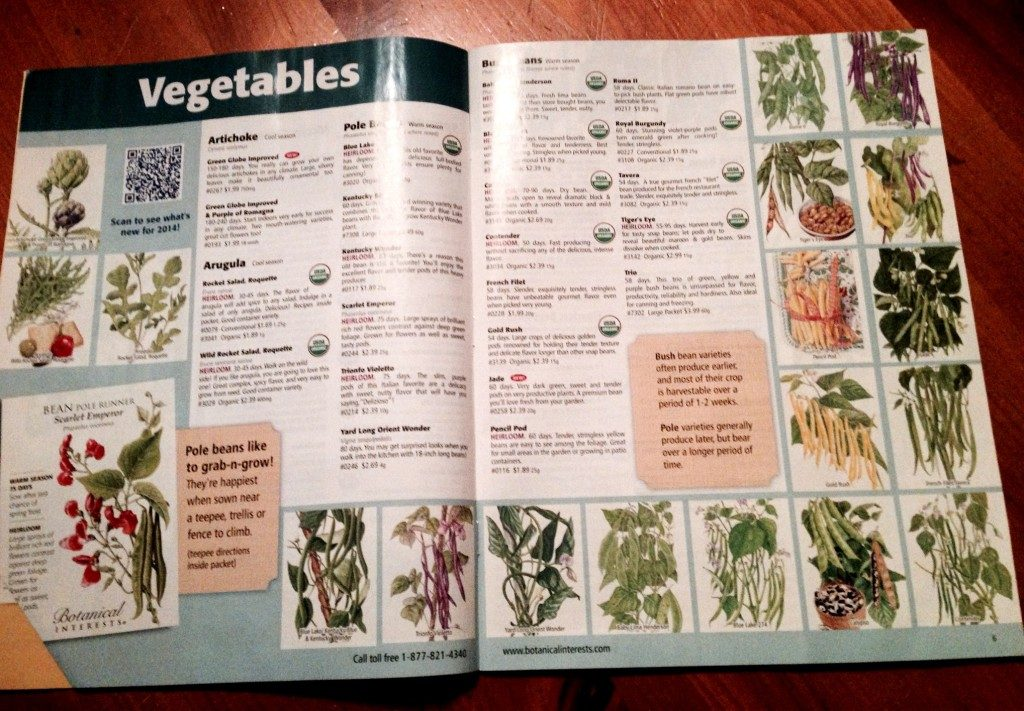 Botanical Interests catalog