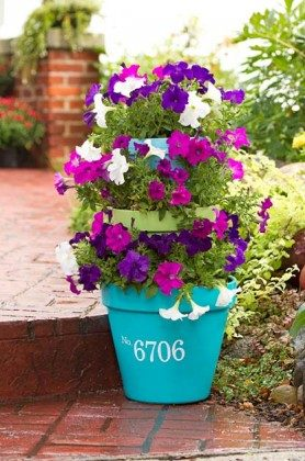 3-Tiered Stacked Planter
