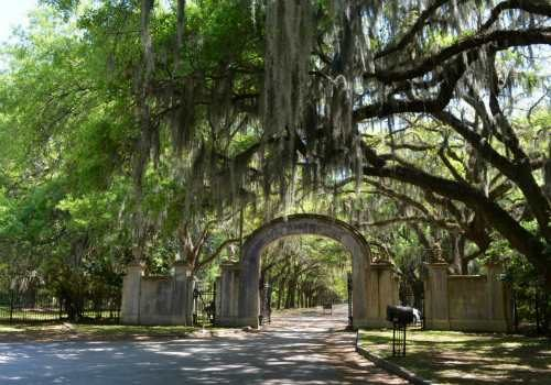 Wormsloe Plantation in Savannah, Georgia