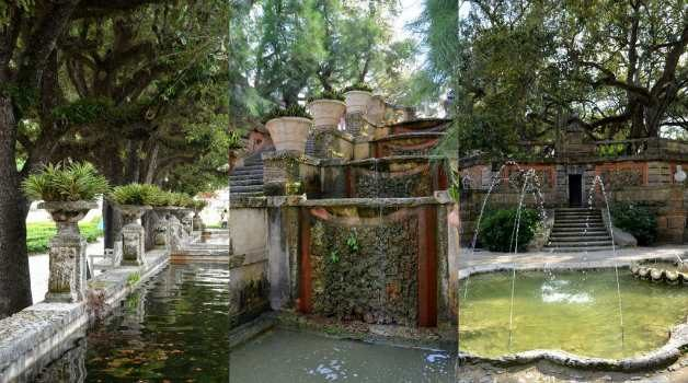 Vizcaya_Garden_Water_Features