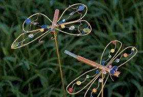 Dragonfly DIY Yard Art