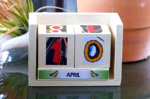 Butterfly DIY Perpetual Calendar