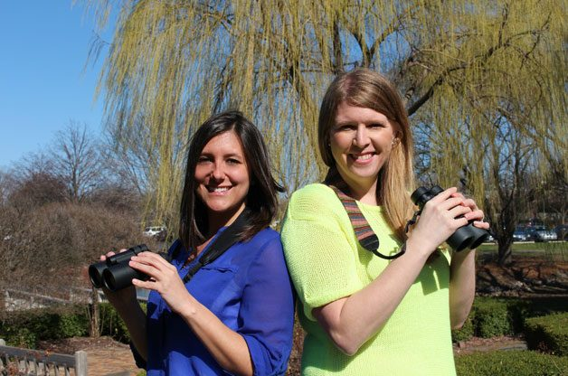 Kirsten and Stacy will be competing in a bird challenge. Show support for one of them below!
