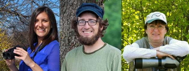 Kirsten Sweet, Ken Keffer, Laura EricksonKen is is a regular writer for B&B. He is crucial to the team as he used call northwest Ohio home and knows the area. Laura is the author of many great bird books. She is a super experienced birder and even did a conservation Big Year in 2013!
