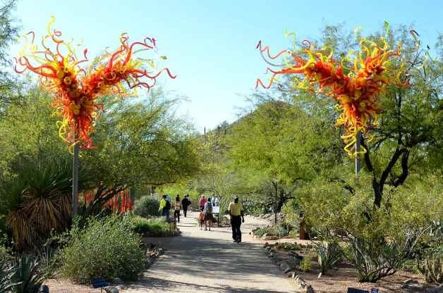 Garden Chihuly Images